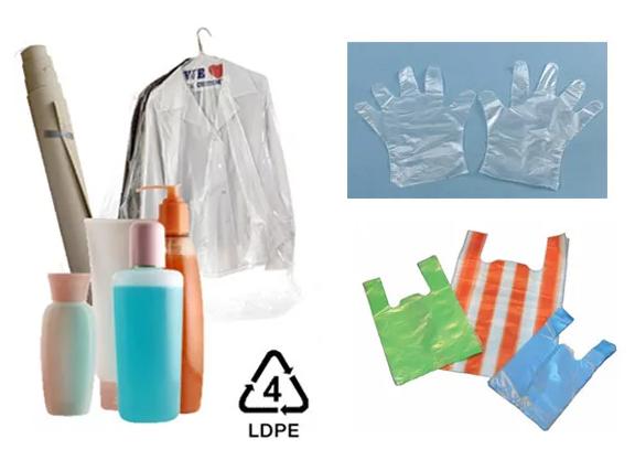 Các sản phẩm làm từ nhựa LDPE