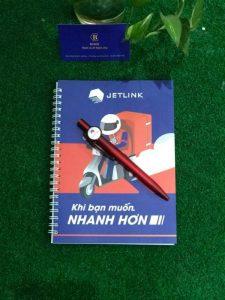 Mẫu in bút bi và in sổ tay theo yêu cầu