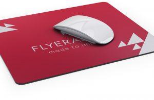 Miếng lót chuột bằng da in logo FLYER ART