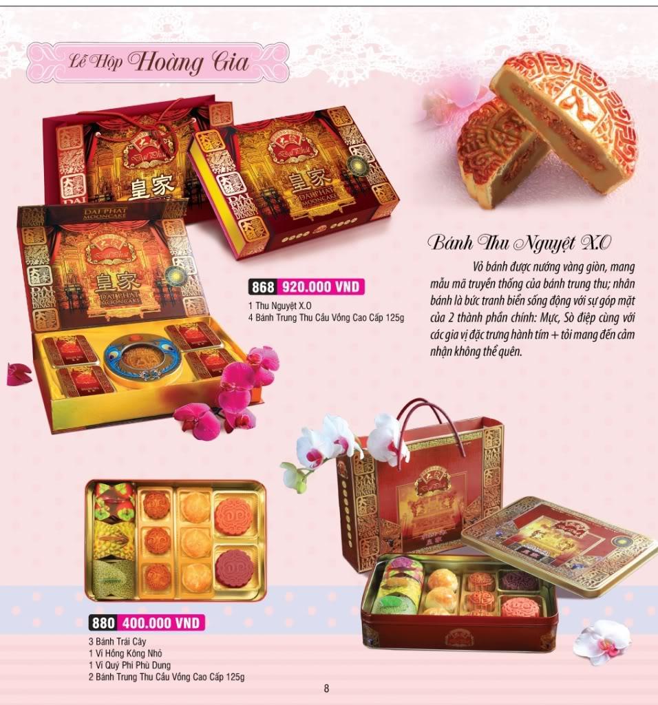 Dịch vụ thiết kế và in ấn catalogue bánh trung thu. Hotline : 0914006627 (Mrs.Nga)