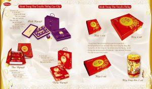 Mẫu thiết kế và in catalogue bánh trung thu