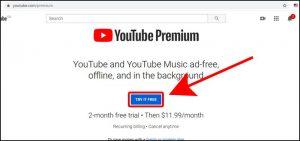 Đăng ký gói YouTube Premium để tải video trên Youtube 3