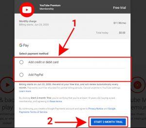 Đăng ký gói YouTube Premium để tải video trên Youtube 5