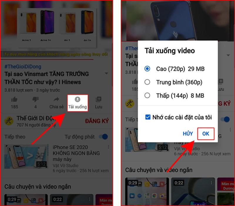 Đăng ký gói YouTube Premium để tải video trên Youtube 6