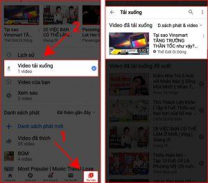Tải video YouTube bằng YouTube Vanced 4