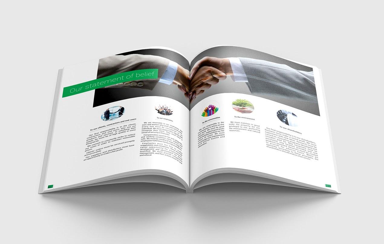 thiết kế profile công ty và in ấn chuyên nghiệp