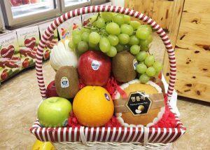 Tặng giỏ hoa quả vào dịp tết