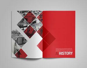 ý nghĩa của màu đỏ trong in catalogue