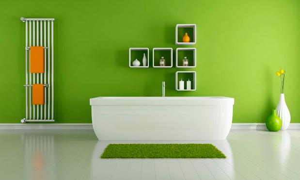 Ý nghĩa của màu xanh lá trong kiến trúc