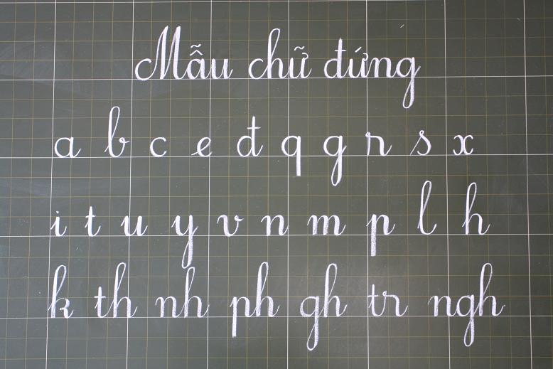 Cách viết chữ đẹp, xác định kích thước chữ