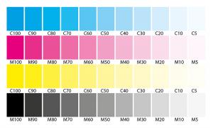 Bảng tone màu trong in ấn