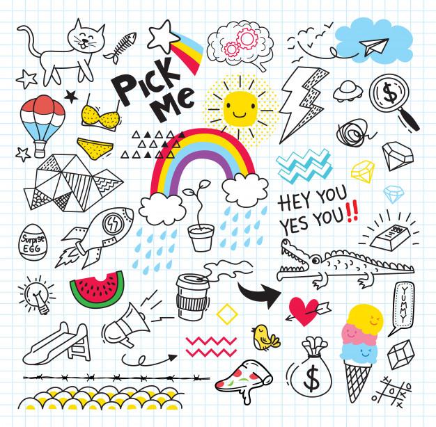 Trang trí sổ tay by doodle