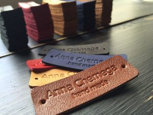 Tem Da, Tag Da, Leather Name Tag, name tag