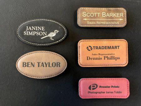Tem Da, Tag Da, Leather Name Tag, name tag