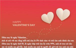 Sms Valentine ý nghĩa
