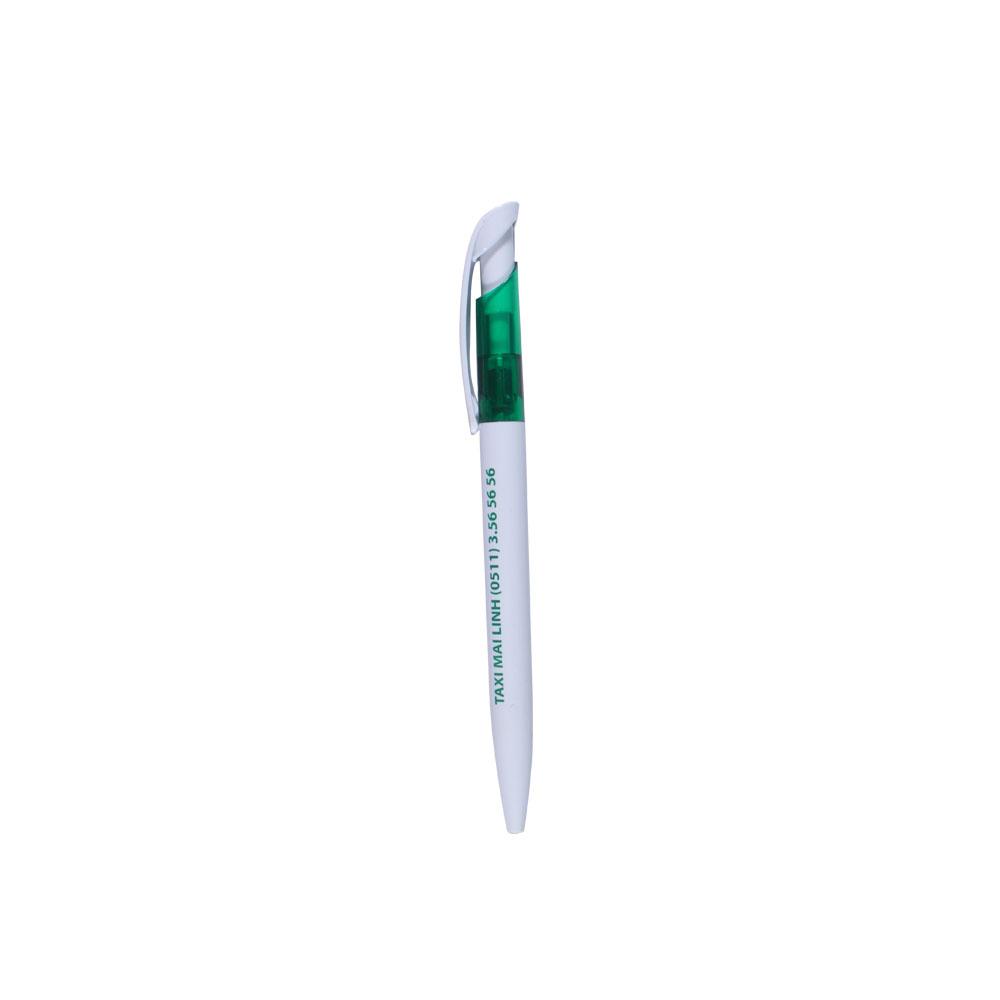 bút nhựa BP-1480 xanh lá