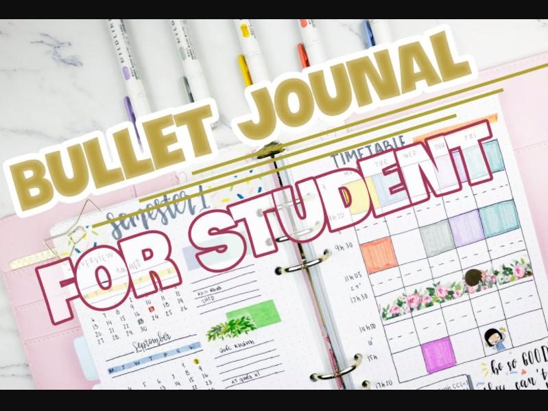 Bullet Journal Cho Học Sinh