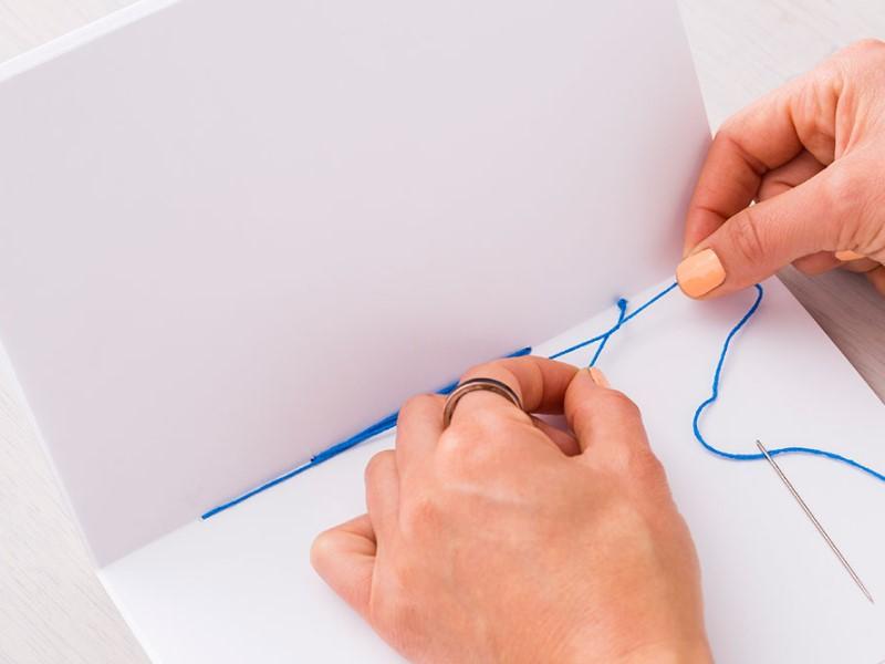 Cách Làm Sổ Tay Lò Xo Handmade