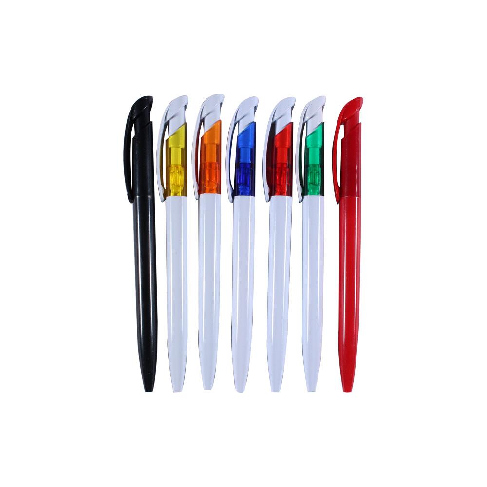 Bút bi nhựa nhiều màu