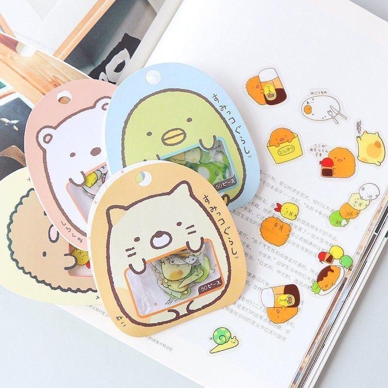 Trang trí sổ tay cute bằng sticker
