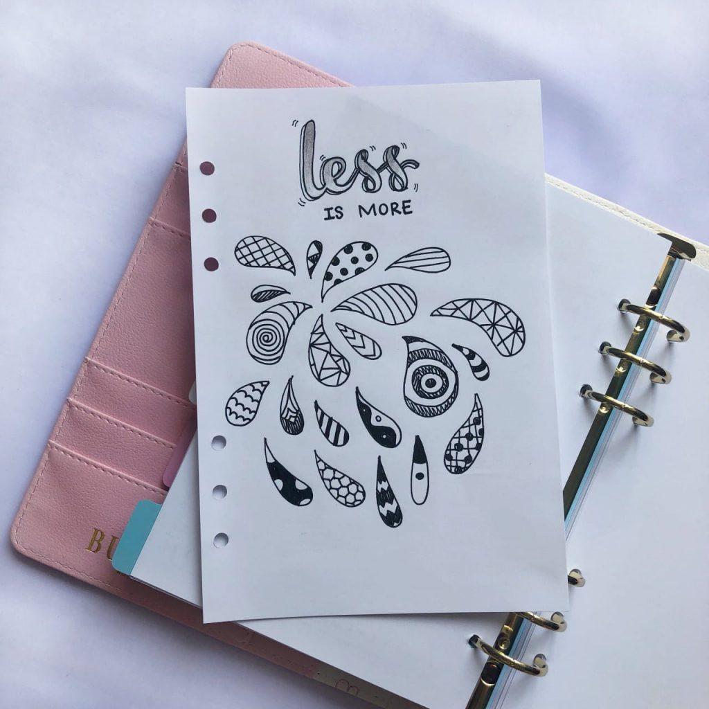 Ý tưởng trang trí bằng hình vẽ bằng tay