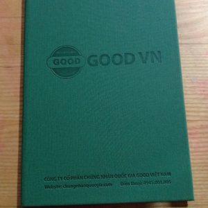bìa đựng chứng nhận good vn